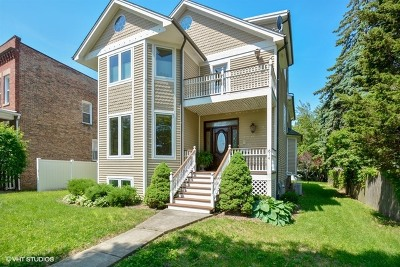 Hinsdale Single Family Home For Sale: 614 South Madison Street