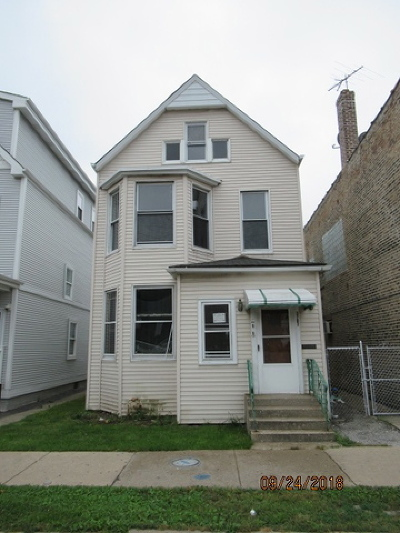 Multi Family Home For Sale: 3707 West Belmont Avenue