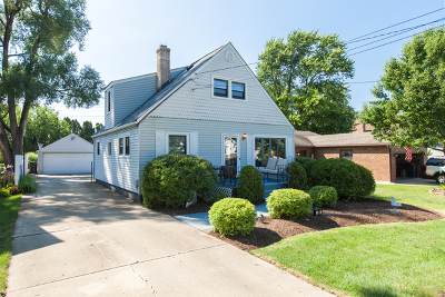 Wood Dale Single Family Home For Sale: 308 Dalewood Avenue