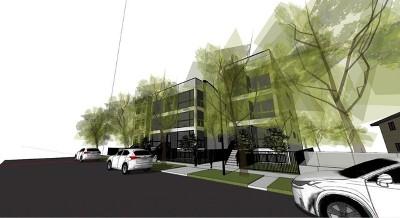 Condo/Townhouse For Sale: 1350 North Claremont Avenue #3