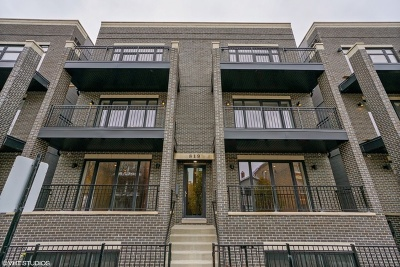 Condo/Townhouse Price Change: 819 North Paulina Street #1E