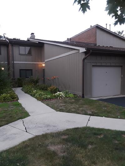 Warrenville Condo/Townhouse For Sale: 29w391 Emerald Green Drive #32-C