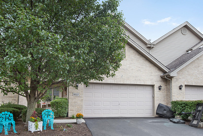 Orland Park Condo/Townhouse For Sale: 14127 Sterling Drive