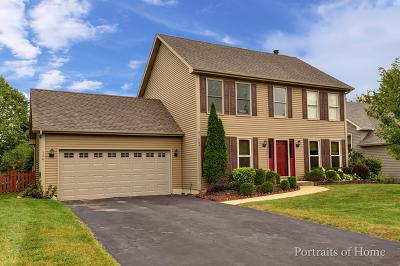 North Aurora Single Family Home Price Change: 504 Bede Circle