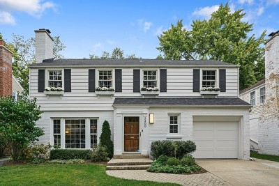 Wilmette Single Family Home For Sale: 2400 Greenwood Avenue