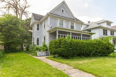 Kankakee Single Family Home For Sale: 553 South Greenwood Avenue