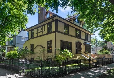 Single Family Home For Sale: 2041 West Byron Street