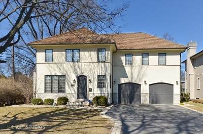 Wilmette Single Family Home For Sale: 3534 Thornwood Avenue