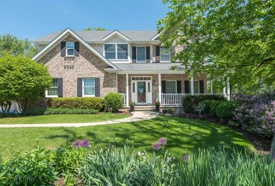 Downers Grove Single Family Home Price Change: 1786 Boundary Court