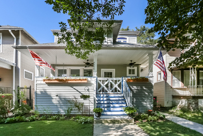 Single Family Home For Sale: 4430 North Albany Avenue