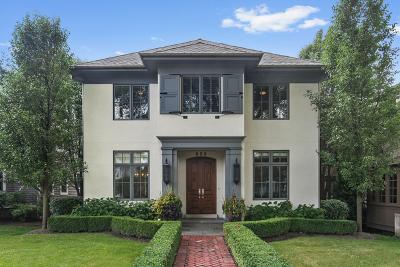 Hinsdale Single Family Home For Sale: 606 South Washington Street