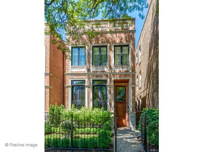 Single Family Home For Sale: 1050 West Wrightwood Avenue