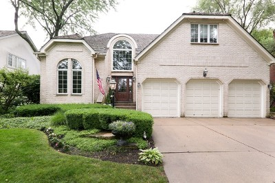 Hinsdale Single Family Home For Sale: 5818 Giddings Avenue