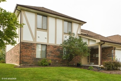 Orland Park Condo/Townhouse For Sale: 9027 Somerset Court