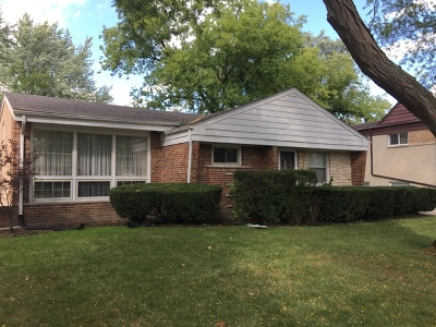 Wilmette Single Family Home For Sale: 3206 Hill Lane