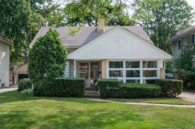 Western Springs Single Family Home For Sale: 3825 Lawn Avenue