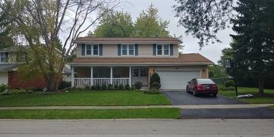 Palatine Single Family Home Price Change: 443 South Stuart Lane