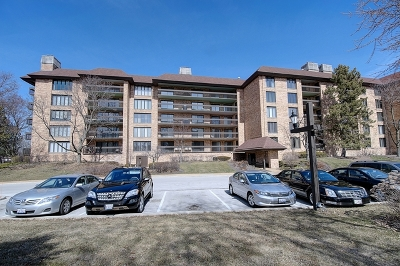 Northbrook Condo/Townhouse For Sale: 1621 Mission Hills Road #202