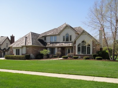 Libertyville Single Family Home Price Change: 1325 Vineyard Lane