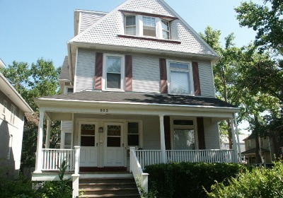 Evanston Multi Family Home For Sale: 803 Greenleaf Street