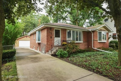 Glenview Single Family Home For Sale: 2212 Harrison Street