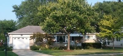 Hoffman Estates Single Family Home Price Change: 625 Arlington Street