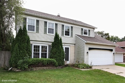 Streamwood Single Family Home Contingent: 36 Spring Valley Lane