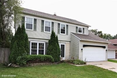 Streamwood Single Family Home Price Change: 36 Spring Valley Lane