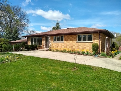 Schaumburg Single Family Home Contingent: 636 Greenbriar Lane