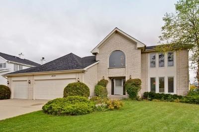 Buffalo Grove Single Family Home For Sale: 1941 Beverly Lane