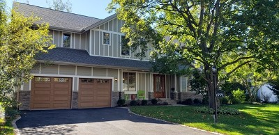 Glenview Single Family Home For Sale: 1771 Central Road