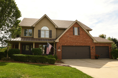 Tinley Park Single Family Home For Sale: 8931 Woodbine Court