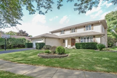 Arlington Heights Single Family Home Price Change: 1110 East Valley Lane