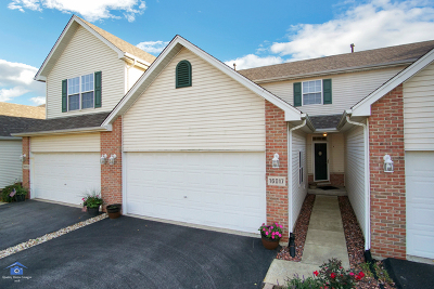 Lockport Condo/Townhouse For Sale: 16017 West Iroquois Drive