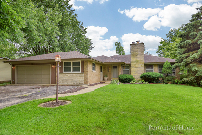 Naperville Country Estates Single Family Home For Sale: 25w279 Highview Drive