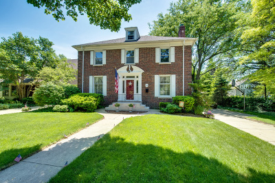 Wheaton Single Family Home For Sale: 312 East Harrison Avenue