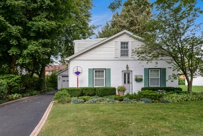 Highland Park Single Family Home For Sale: 1474 Deerfield Place