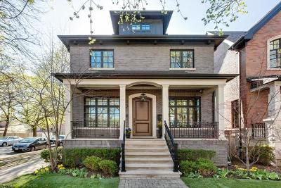 Single Family Home For Sale: 3900 North Seeley Avenue
