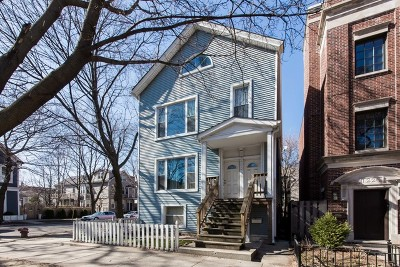 Multi Family Home Contingent: 1224 West Wrightwood Avenue