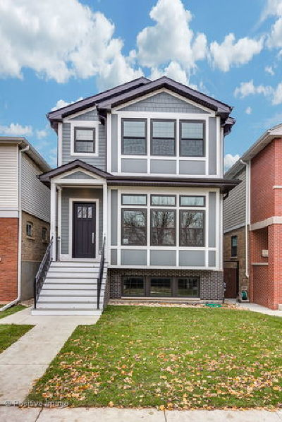 Single Family Home For Sale: 2534 West Berteau Avenue