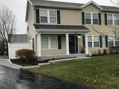 Oswego Condo/Townhouse For Sale: 135 Waterbury Circle
