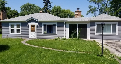 Wood Dale Single Family Home Price Change: 357 Itasca Street