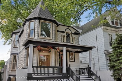Single Family Home For Sale: 1821 West Byron Street