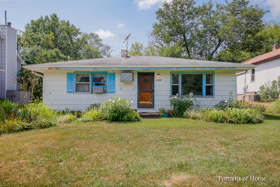 Downers Grove Single Family Home For Sale: 6108 Sherman Avenue