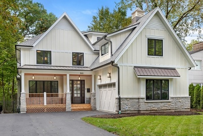 Glencoe Single Family Home For Sale: 840 Grove Street