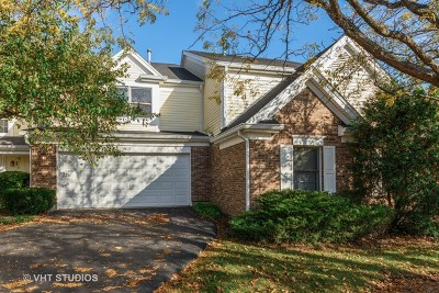 Hoffman Estates Condo/Townhouse For Sale: 4837 Prestwick Place
