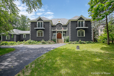 Naperville Single Family Home Contingent: 5s550 Radcliff Road