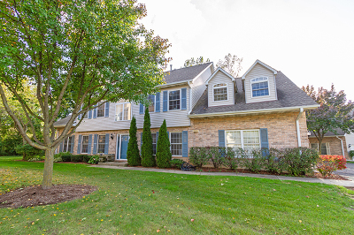 Streamwood Condo/Townhouse For Sale: 1550 Laurel Oaks Drive