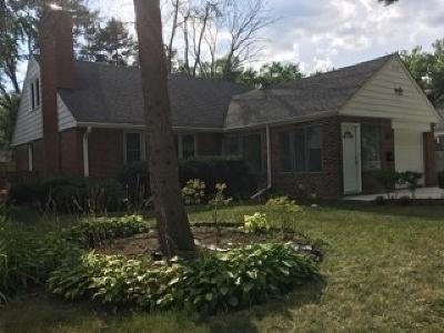 Highland Park Single Family Home For Sale: 1450 Ferndale Avenue