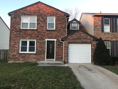 Carol Stream Condo/Townhouse For Sale: 1375 Georgetown Drive